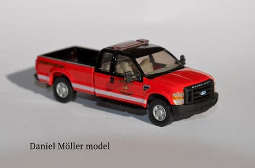 pickup truck model