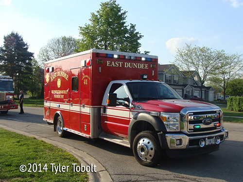 East Dundee FPD ambulance