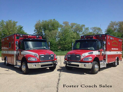 new ambulances for Schaumburg IL