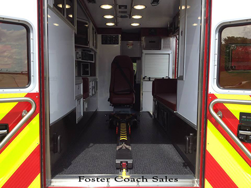 new ambulance for Schaumburg IL