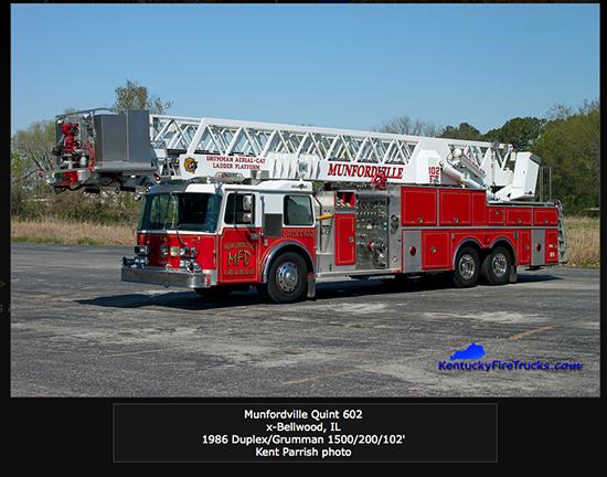 Grumman AerialCat tower ladder