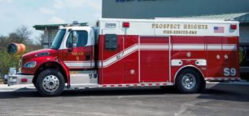 Als Auto Salvage >> Prospect Heights puts new Squad 9 into service « chicagoareafire.com