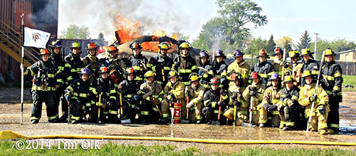 firefighter class photo