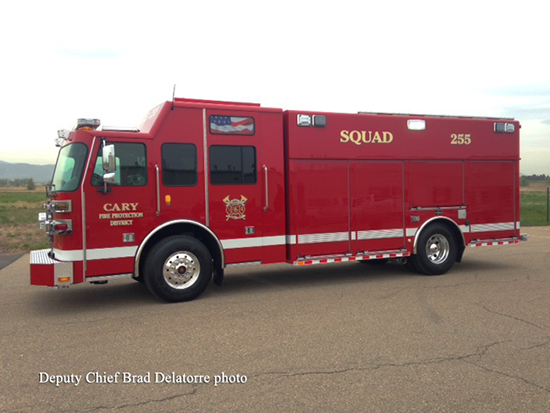 SVI heavy rescue fire truck