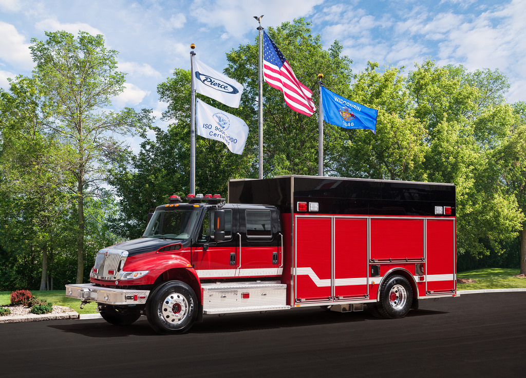 new fire truck for the Hanover Park Fire Department