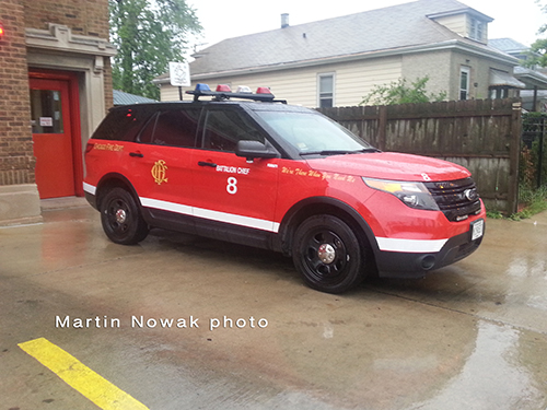 Chicago FD Ford Explorer