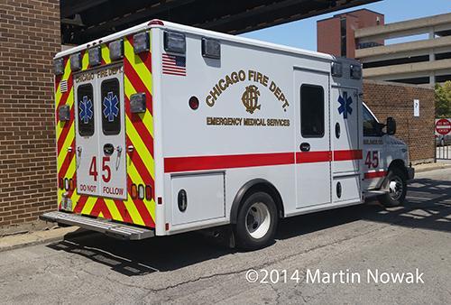 new Chicago FD ambulance