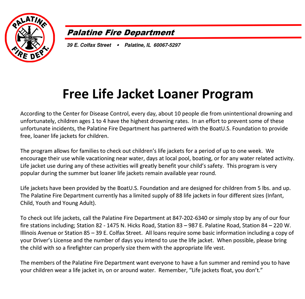 2014 Life Jacket Loaner Program.doc