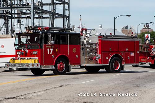 Ward LaFrance fire engine from Backdraft