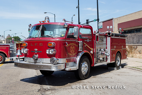 American LaFrance fire engine