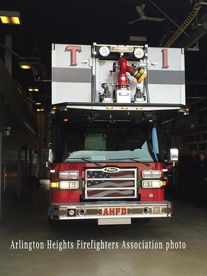 Pierce Dash CF PUC tower ladder
