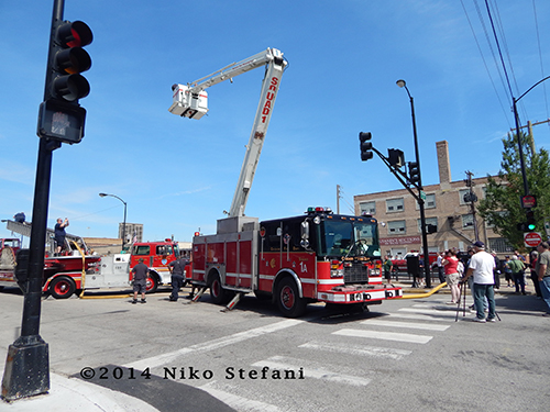 Chicago FD Snorkel Squad 1A