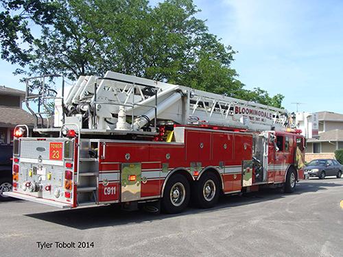 Bloomingdale FPD tower ladder