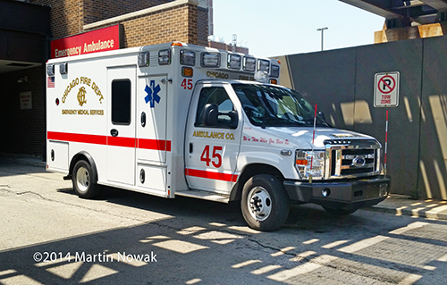 new Chicago FD ambulance