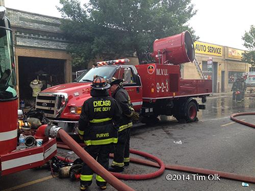 fire department mobile ventilation unit