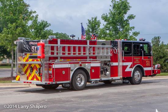 E-ONE Cyclone II fire engine
