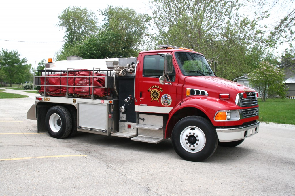 rural fire department water tender