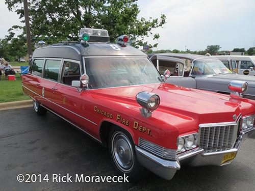 Chicago FD Cadillac ambulance