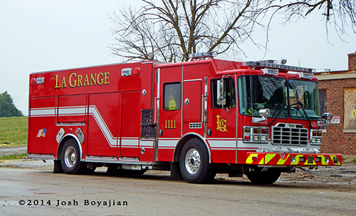 Ferrara Ember MVP fire engine