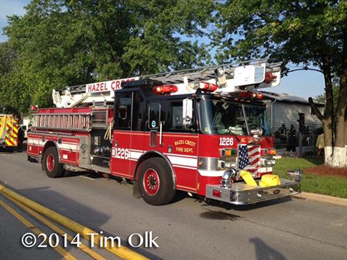 Hazel Crest fire engine