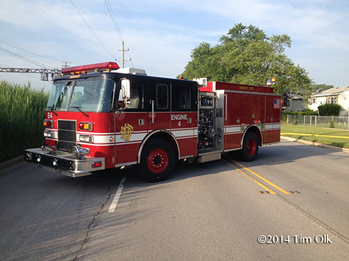 Harvey fire engine