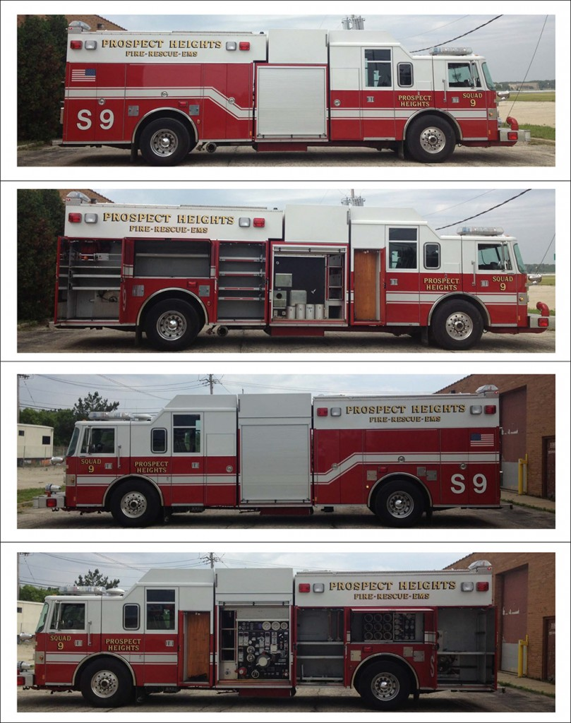 1996 Pierce Lance Rescue pumper for sale