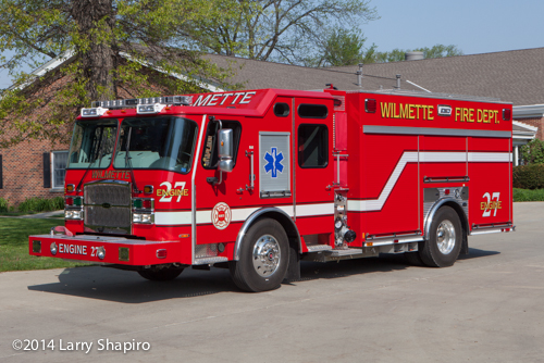 E-ONE e-Max rescue pumper