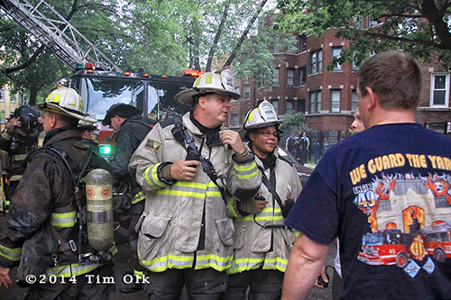 chief fire officers in Chicago