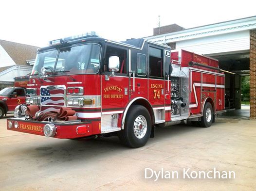 Frankfort FPD fire engine