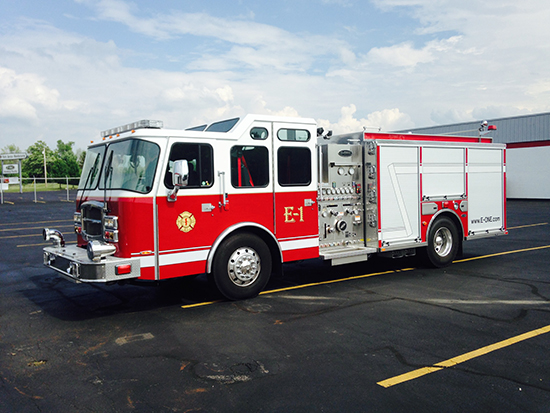 E-ONE fire engine