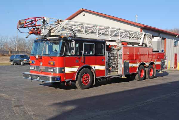 former Lincolnwood fire truck for sale