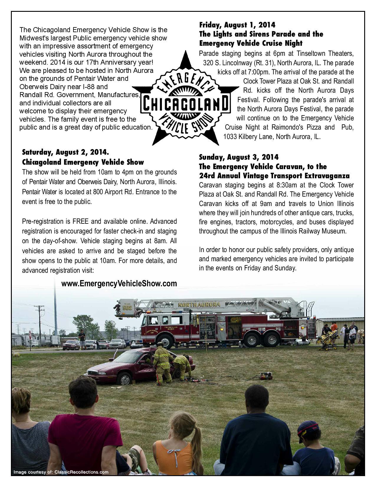 Chicagoland Emergency Vehicle Show
