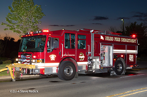 Pierce Dash CF PUC fire engine