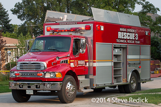 MABAS Division 3 special rescue squad