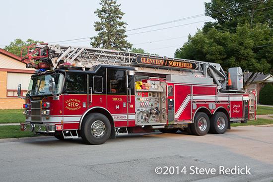 Glenview fire truck