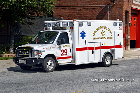 new ambulance for the Chicago FD