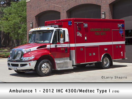 Arlington Heights ambulance