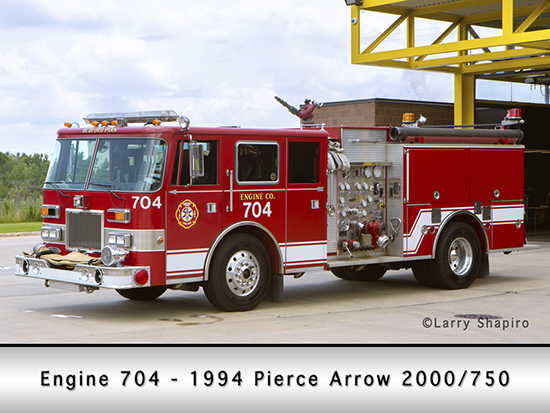 Bedford Park Fire Department Engine 704