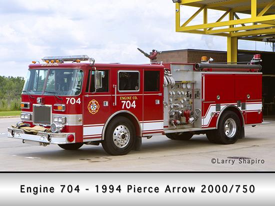 Bedford Park Fire Department Engine 704