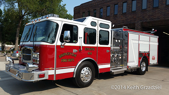 Bridgeview fire engine