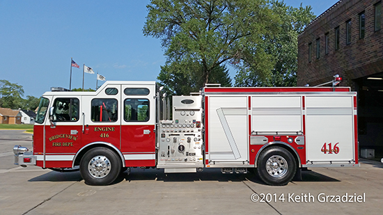 Bridgeview fire engine