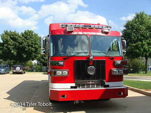 Sutphen chassis for heavy rescue