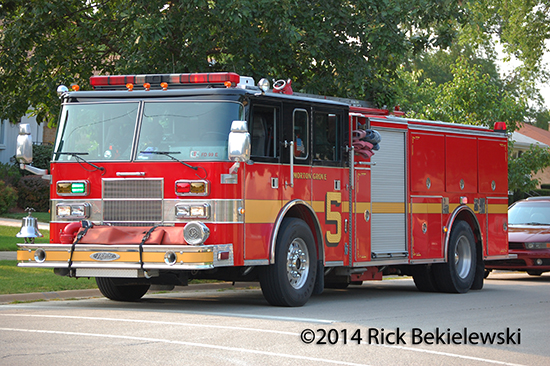 Morton Grove fire engine