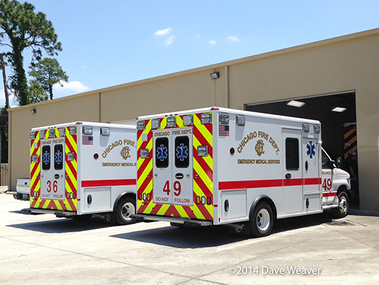 new ambulances for Chicago