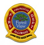 Forest View Fire Department patch
