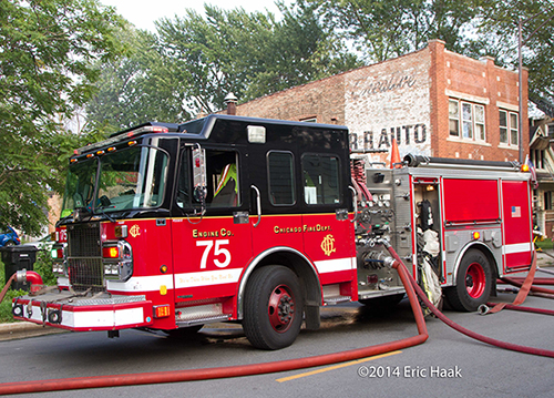 Chicago FD Spartan Engine 75