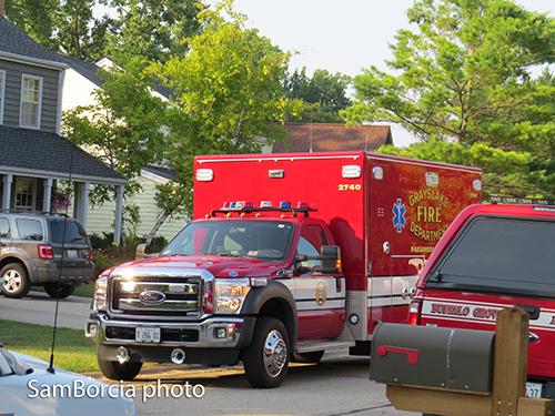 Grayslake Fire District ambulance