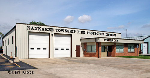 Kankakee Township FPD Station 1.