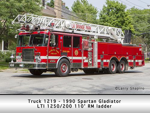 LTI fire truck