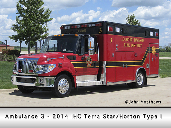 IHC Terra Star ambulance